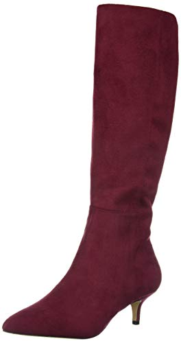 Athena Alexander Women's Lyon Knee High Boot Wine Suede 5 M US
