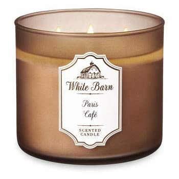 1 Bath /& Body Works Paris Cafe Bouquet 3 Wick Large Scented Candle 14.5 oz New