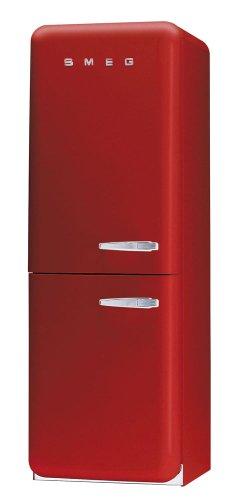 Smeg FAB32RS7 Independiente A+ Rojo nevera y congelador - Frigorífico (Independiente, Rojo, Izquierda, 330 L, 39 dB, 205 L)