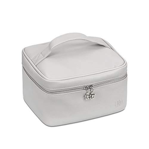 BOONA Large Soft Leather PU Makeup Bag Cosmetic bag trousse de toilette