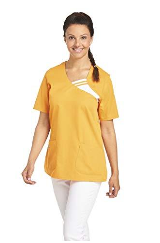 LEIBER Damen Schlupf-Jacke - kurzarm -  Gr:- XL, Farbe:- Sun