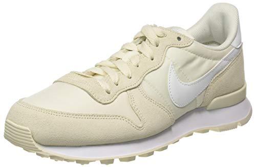 Nike Damen WMNS Internationalist Leichtathletikschuhe, Mehrfarbig (Pale Ivory/Summit White/White 000), 40 EU