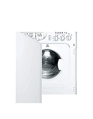 Indesit IWME 127 Integrated Front Load 7 kg 1200 RPM A+ White - Washing Machine (Built-in, Front Loading, White, Left, LED, 52 L)