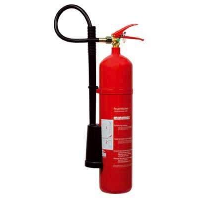 Minimax Kohlendioxid-Feuerlöscher 5 kg | Feuerlöscher 5 Kilo CO2 | Brandklasse B | EN3 | Made in Germany