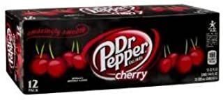 Dr. Pepper Cherry Soda, 12 Ounce (36 Cans)