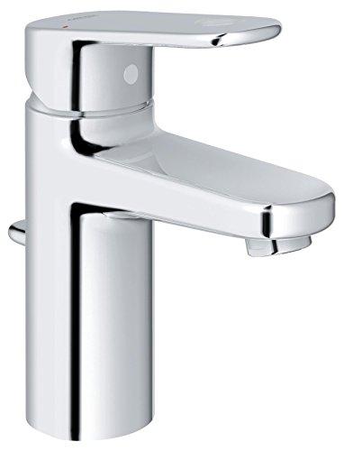 GROHE Europlus Badarmaturen - Einhand-Waschtischbatterie (DN 15, S-Size, Einlochmontage) chrom, 32612002
