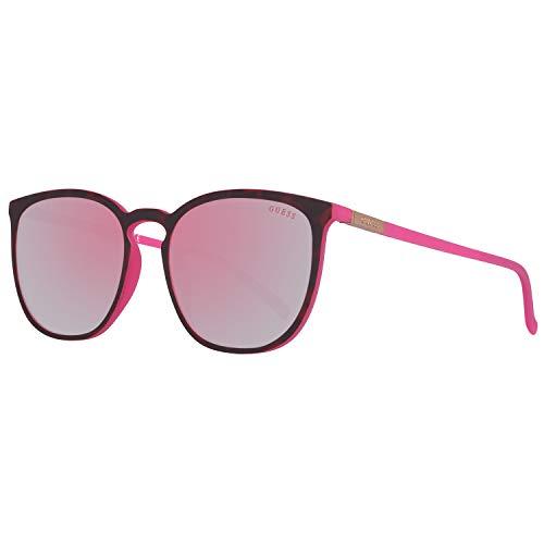 Guess Sonnenbrille Gu3020 52U-56-18-140 Gafas de sol, Rojo (Rot), 56.0 para Mujer