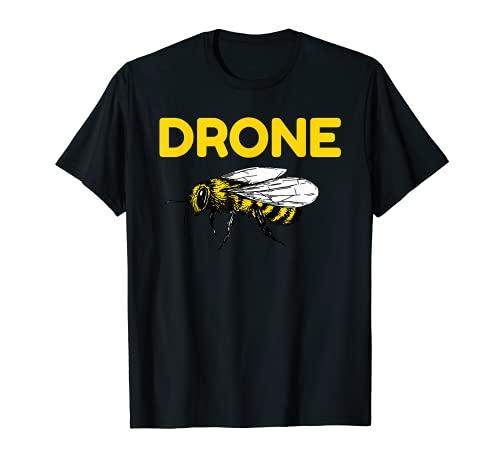 Drone Abejas Piloto Quadcopter RC Apicultura Miel Apicultor Camiseta