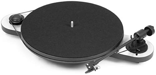 Pro-Ject Elemental - Tocadiscos (DC, Negro, Color blanco, 430 x 300 x 90 mm)
