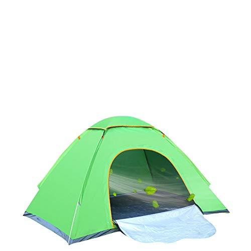 thematys Outdoorzelt leichtes Pop Up Wurfzelt für 1 bis 2 Personen Zelt Camping Festival Sekundenzelt mit Tragetasche (Grün, 1-2 Personen)