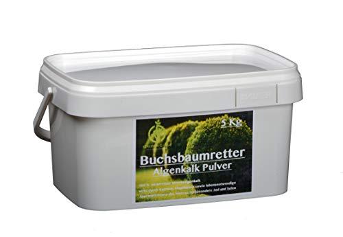Stauden Gänge 5 kg Algenkalk Pulver im Eimer/Buchsbaumretter/Das Original/mit Anleitung