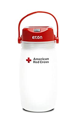 Eton Solar Powered Lantern with Integrated Water Bottle & Personal Emergency Kit - Great for Everyday Outdoor Use and Ready for Any Emergency
