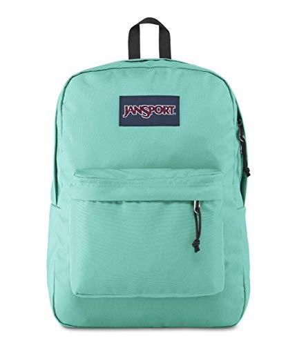 JanSport SuperBreak One Backpack - Lightweight School Bookbag, Tropical Teal, One Size