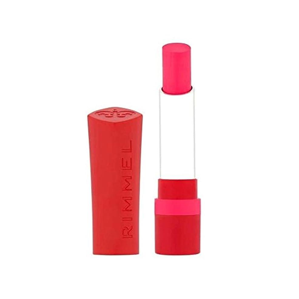 フィヨルド自信があるまたリンメルのみ1枚のマット口紅は、ショットを呼び出します x2 - Rimmel The Only 1 Matte Lipstick Call the Shots (Pack of 2) [並行輸入品]