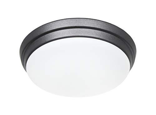 Plafondventilator ECO PLANO II 2763 - EP-LED (zwart)