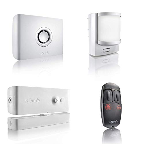 Somfy 2401426 Sistema Inalámbrico de Alarma, Blanco