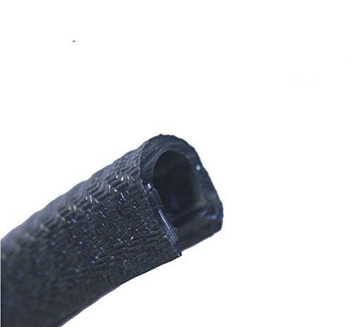 Preisvergleich Produktbild EUTRAS Kantenschutz 1200 5 m Kantenschutz 6-8 mm SCHWARZ U-Profil Keder Kederband Kantenschutzprofil Kantengummi