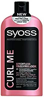 Syoss profrssional Curl Me Effortless Frizz free look 01 shampoo 500ml