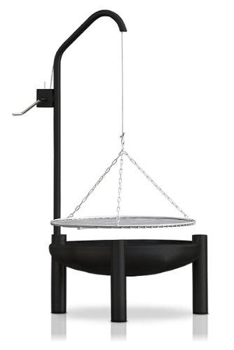 Holzkohlegrill, Ø 50 cm, RICON, deutsche Herstellung