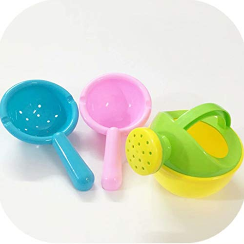 Juego de tazas de baño - Seguridad, comodidad Baño de bebé Enjuague en cascada Champú para niños Taza de enjuague Taza de champú de baño (Suministros para la ducha del bebé)