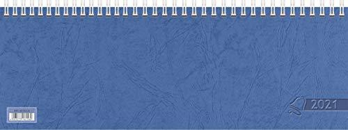 Glocken Querkalender Querterminbuch, 1 Woche/ 2 Seiten 297 x 105 mm, Karton, blau (1)