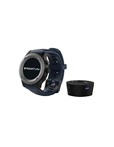 Brigmton BWATCH-100GPS 1.3' IPS GPS (satélite) Negro, Gris Reloj Inteligente - Relojes Inteligentes (3,3 cm (1.3'), IPS, Pantalla táctil, GPS (satélite), 88 g, Negro, Gris)