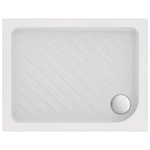 Ceramica Dolomite J526601 GEMMA 2 Piatto doccia quadrato in ceramica 90x70 cm - Bianco