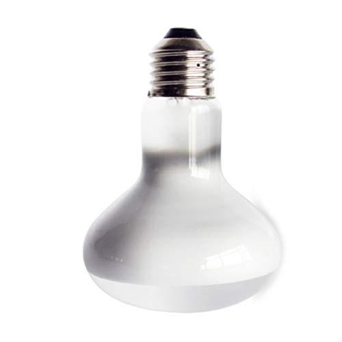 Sairis 220 V UVA + UVB reptielamp, lamp, schildpad, basking, uv-lamp, warmtelamp, hagedissens, temperatuurregeling, Blanc (40W)