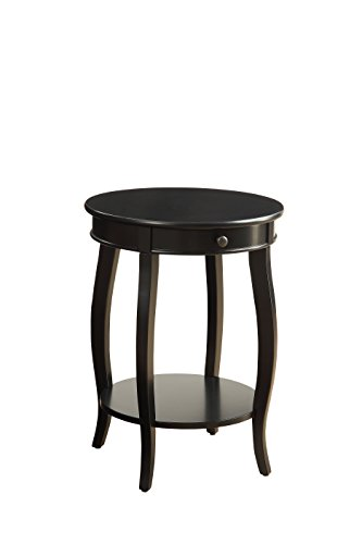 ACME Furniture Alysa Side Table, Black, One Size