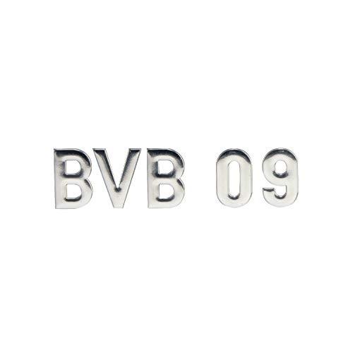 Borussia Dortmund autosticker - BVB 09 - chroom belettering, sticker 3D, sticker - plus bladwijzer I Love Dortmund