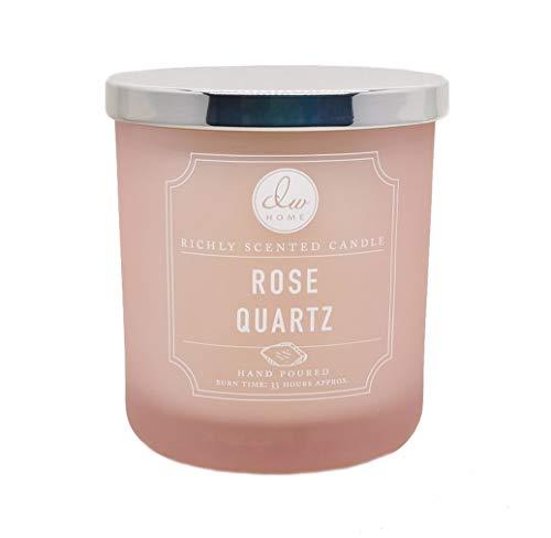 DW Home Rose Quartz Medium 1 Wick Hand Poured 9.1 oz Candle