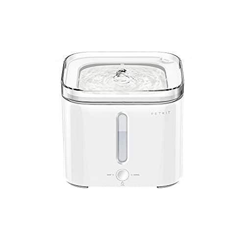 PETKIT Cat Water Fountain, 68oz/2L Automatic Pet Water Fountain with Auto...