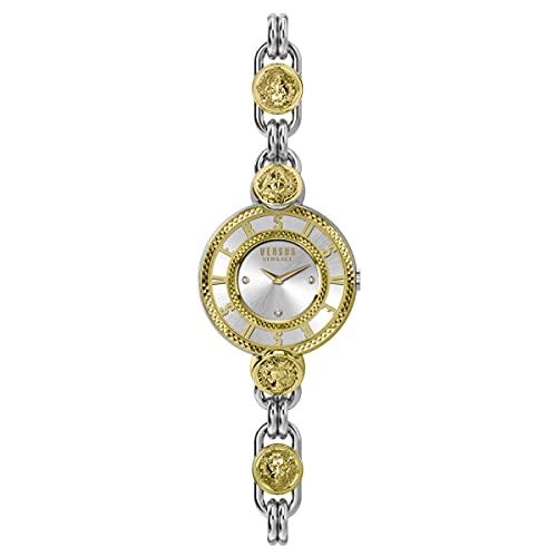 Versus by Versace Les Docks VSPLL1320 - Reloj de pulsera para mujer (acero inoxidable)