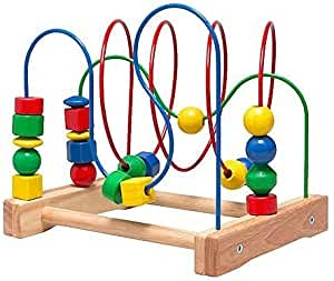Ikea Mula - Juguete de madera para niños, ayuda a las habilidades lógicas, espaciales y motoras