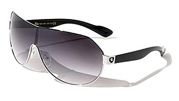Men s Flat Top Sport Shied Aviator Sunglasses - Multiple Colors