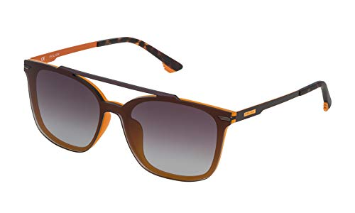 Police SPL528999UXM Gafas de sol, Gris, 99 Unisex