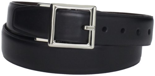 Dockers Boys Reversible Belt for Children- Classic Black To Brown