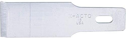 ELMERS X-Acto H0859#18 Heavyweight Chiseling Blades - Pack. of 5 (X218)