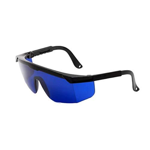 IPL Beauty Equipment Brille, 1 Paar getönte Laserschutzbrille, Antibeschlag-Augenschutzbrille, verstellbare Seitenschutzbrille, Schutz für Phototherapie und Laserbehandlung