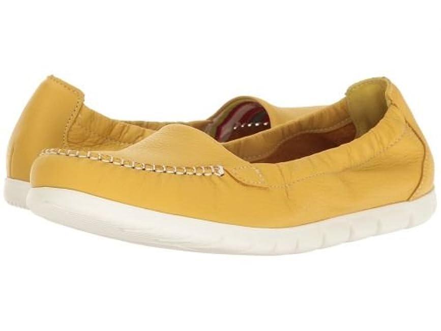時計回り手当嘆願SAS(サス) レディース 女性用 シューズ 靴 ローファー ボートシューズ Sunny - Canary Yellow [並行輸入品]