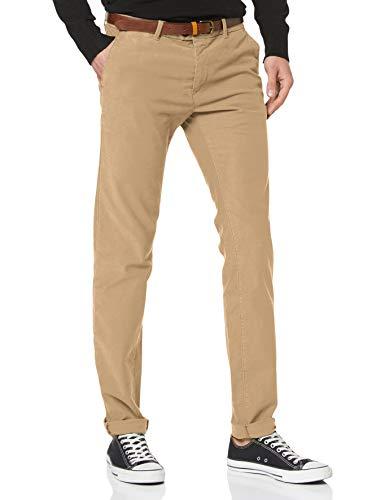 Scotch /& Soda Stuart-Classic Garment-dyed Twill Chino Pantalones para Hombre