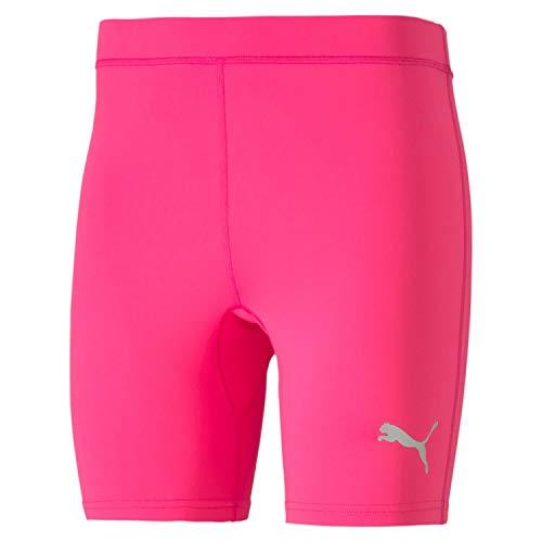 PUMA Liga Baselayer - Mallas Cortas para Hombre (Talla S), Color Rosa
