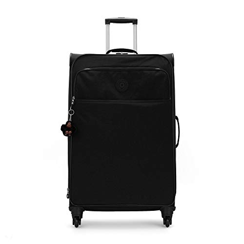 Kipling Parker Large Rolling Luggage Black Tonal
