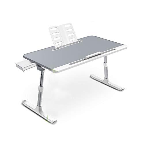 BBWYYQX Table Bed Fold Desk Desk Desk,Convenient Household Office Computer Desk Bookshelf Workstation/A / 60×45×27.3cm
