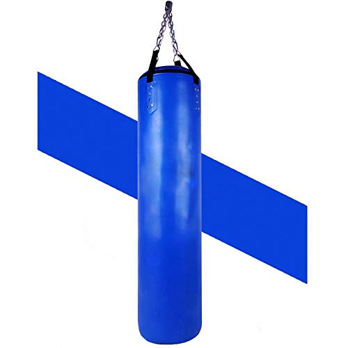 Bolsa de arena de fitness colgante de cuero de la PU, MMA Muay Thai Training Punch Bag, Combate Heavy Punch Bag utilizado como casa/gimnasio equipo de boxeo hueco