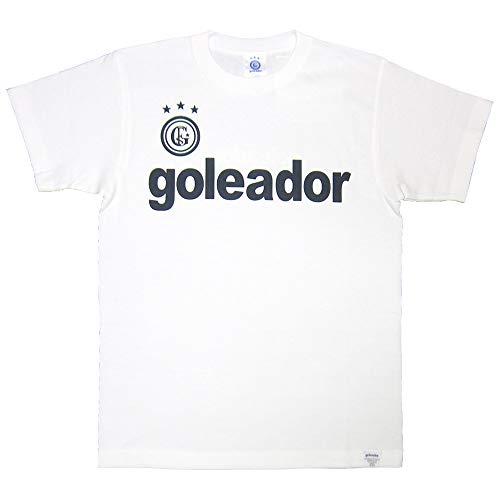 goleador(ゴレアドール) BOXロゴT シャツ G-2351 Lサイズ ホワイト