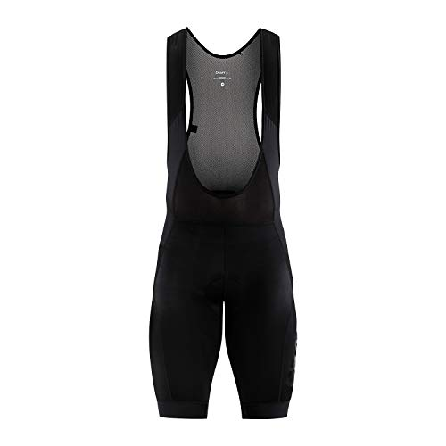 Craft Herren Essence BIB Shorts Radhose, Black, L