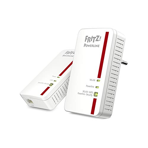 AVM Fritz!Powerline 1240E WLAN Set International - Adaptador