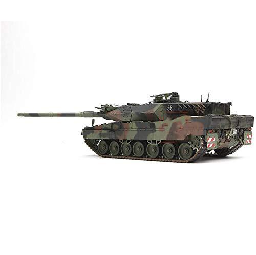 CMO Maqueta Tanque de Guerra, WWII Tanque de Batalla Principal Leopard 2A7 de Alemania el Plastico Militares Escala 1/35, Juguetes y Regalos para Niños