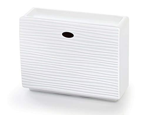 REPLOOD Zapatero de un solo bloque con capacidad para 3 pares de zapatos colgables Mono Wave White